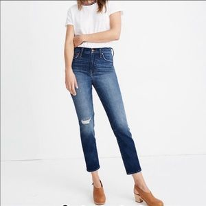 Madewell The Perfect Vintage Crop Jeans 25